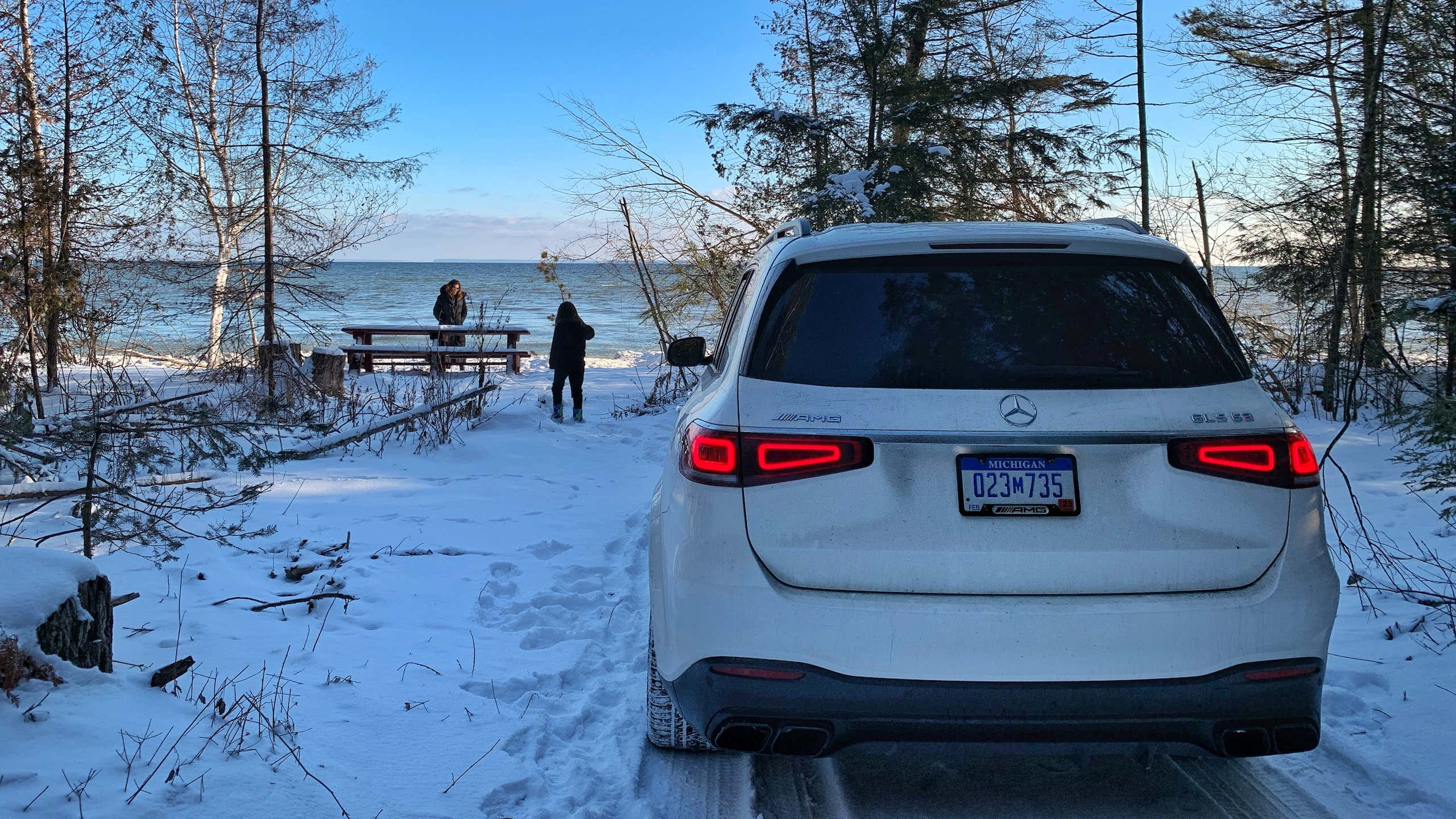 2021 Mercedes-AMG GLS63: A 603-HP Luxury Tank Conquers a Winter Road Trip