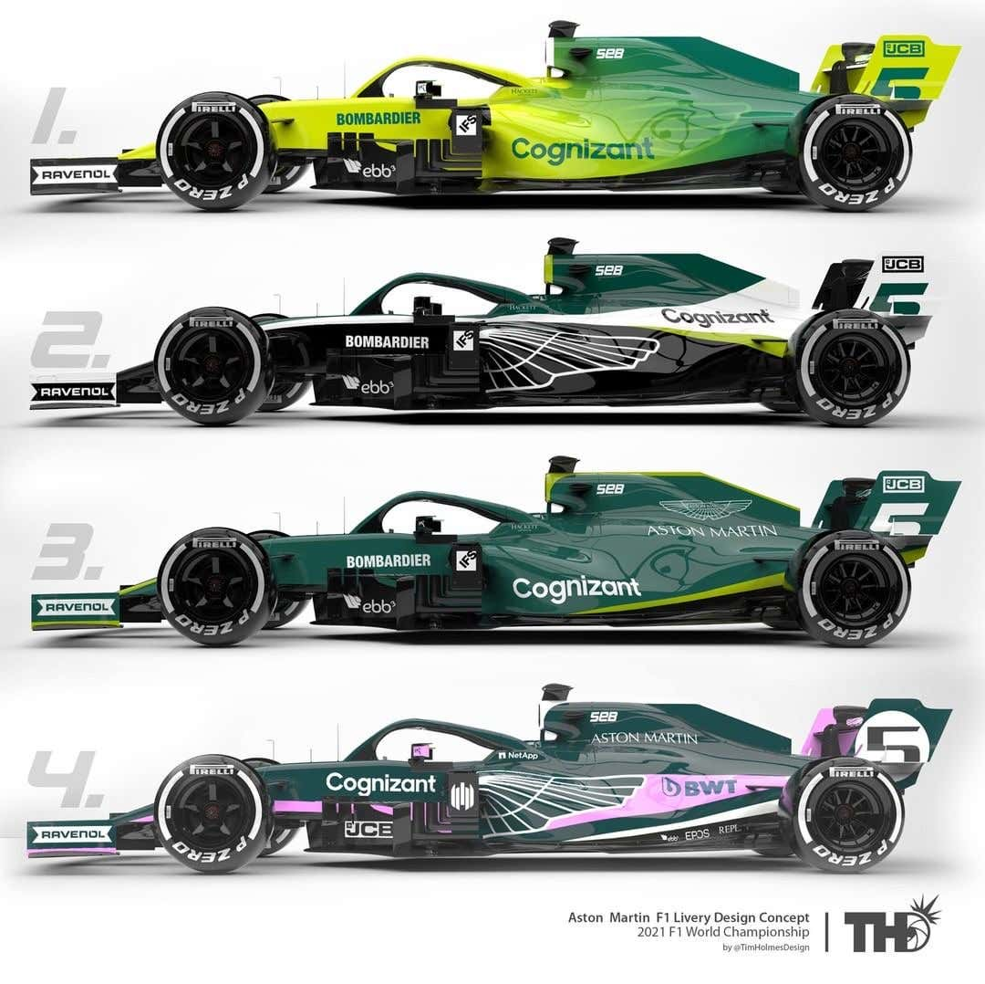 This May Be The Aston Martin F1 Car S Handsomely Green Livery