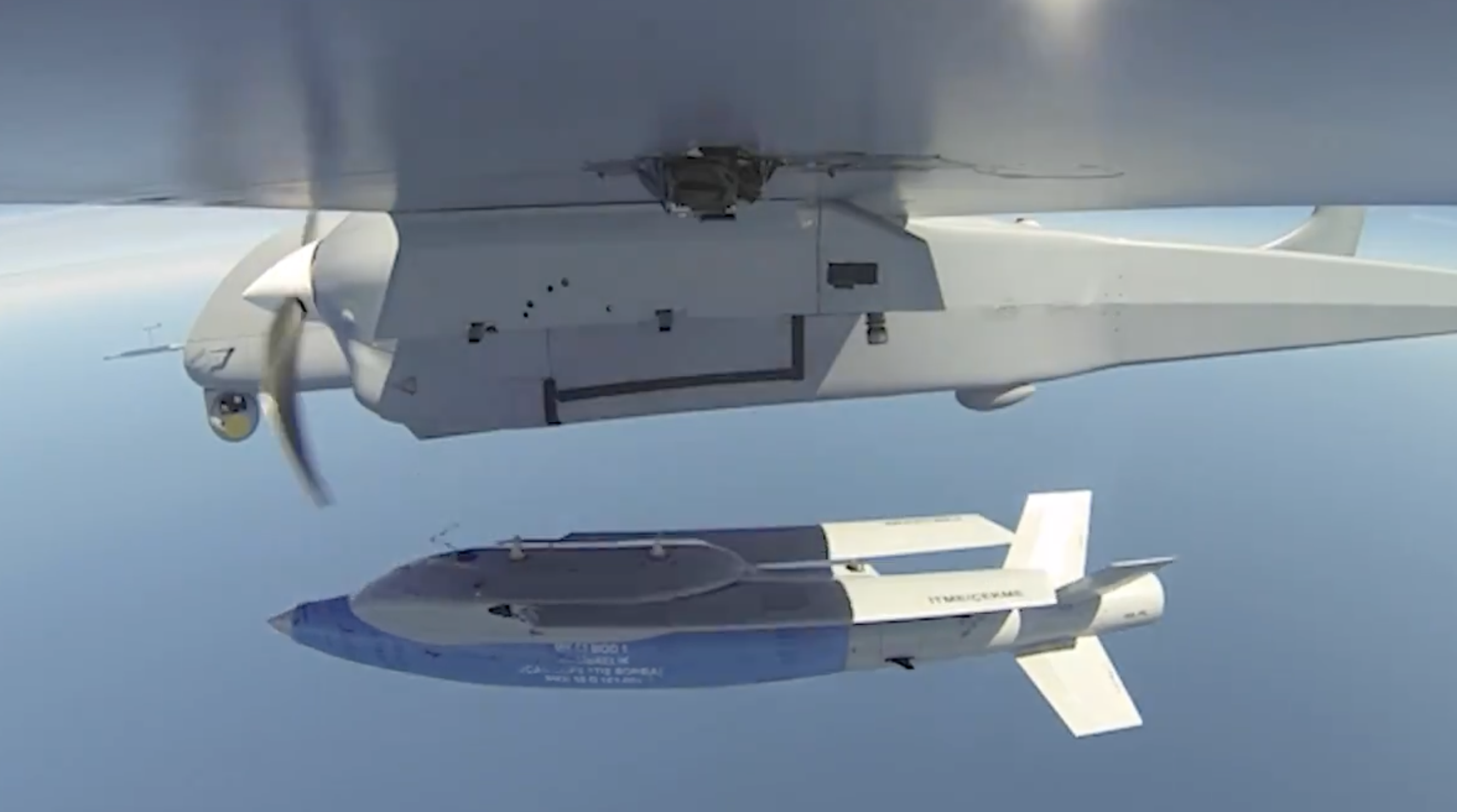 Turkey Now Has A High-Speed Missile-Like Drone That's Launched From A Larger Drone