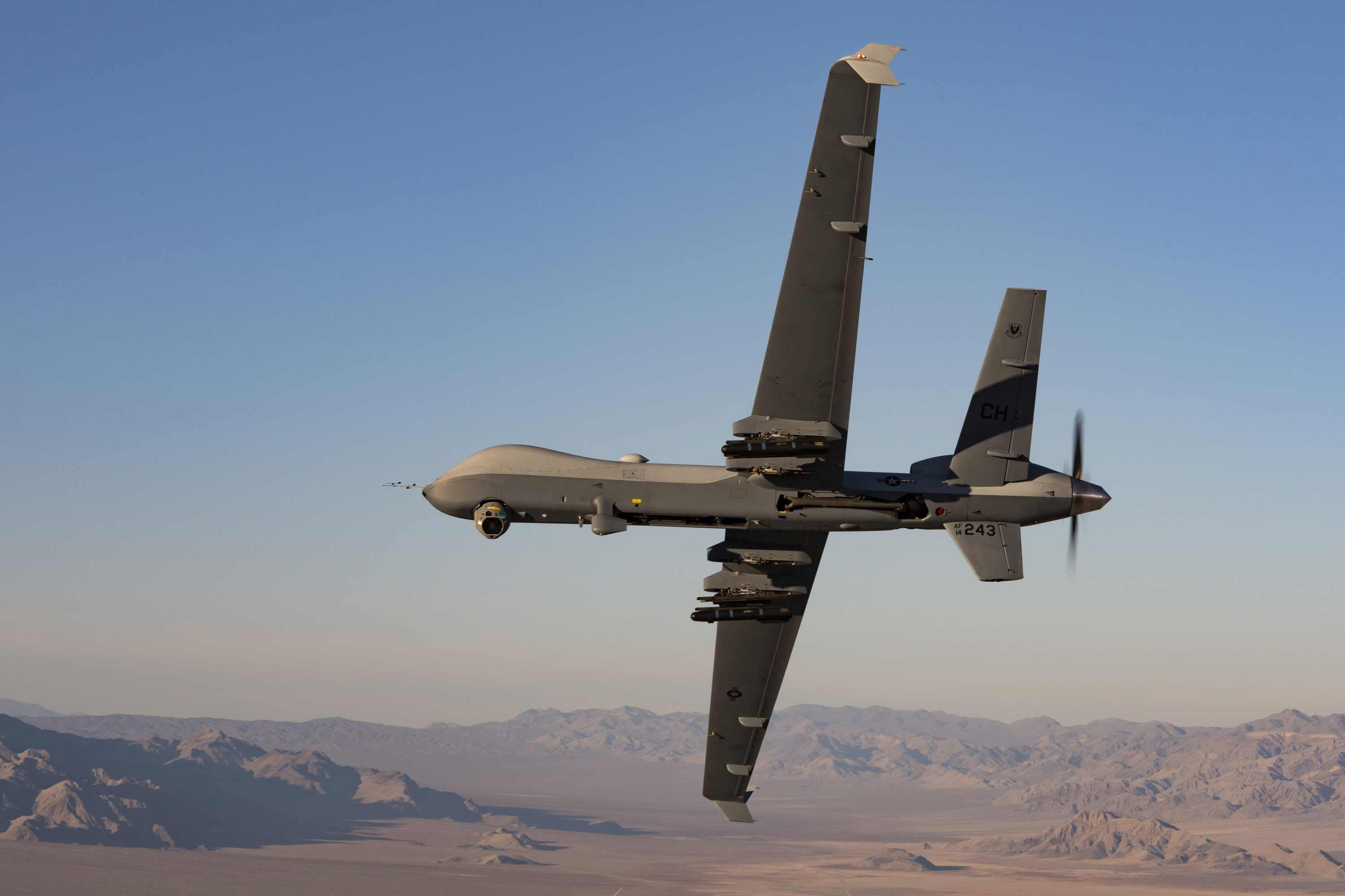 Reaper Drone Replacement Requirements Now Include Air-To