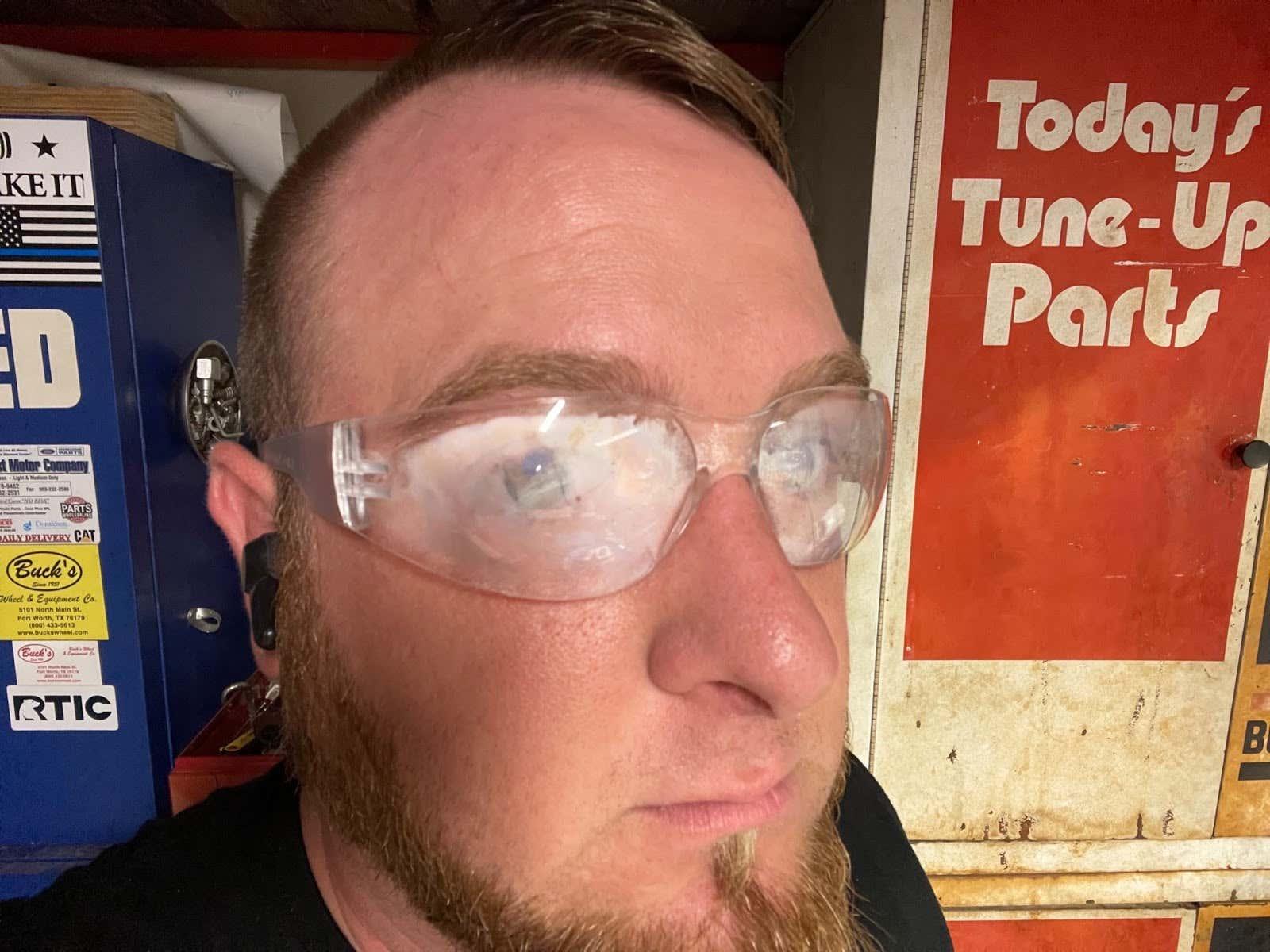 Radians Clear Safety Glasses Fog