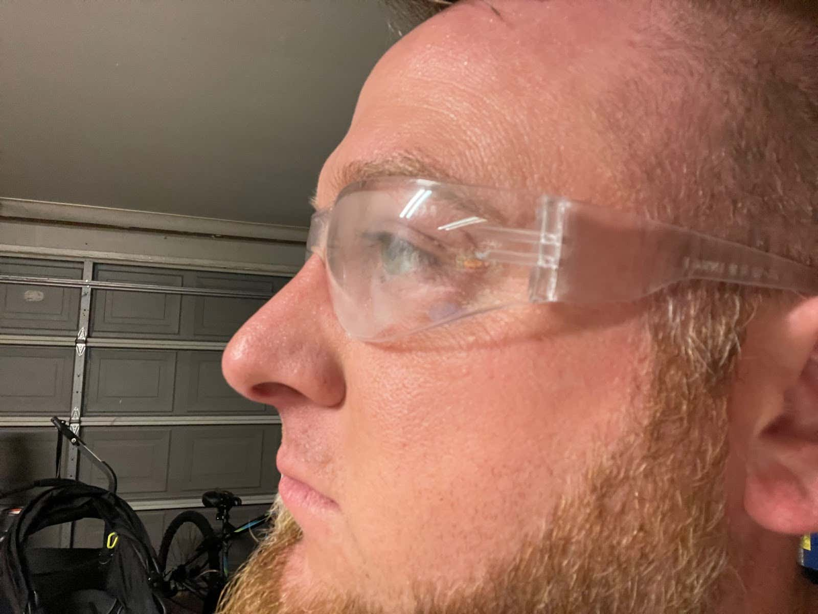 Radians Clear Safety Glasses, Scratch Resistant Close-up