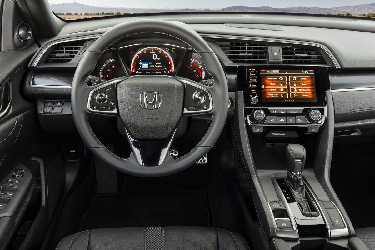 2020 Honda Civic Hatchback Now Offers Manual Transmission On Its Highest Trim
