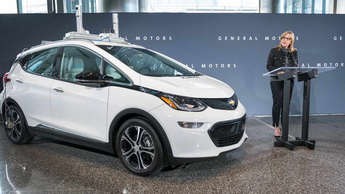 GM Starts Autonomous Vehicle Testing and Manufacturing