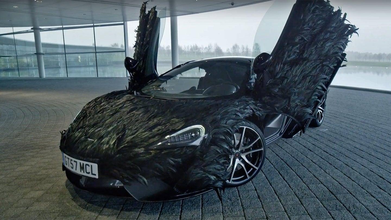 McLaren Wraps 570GT in Carbon Fiber Feathers for April ...