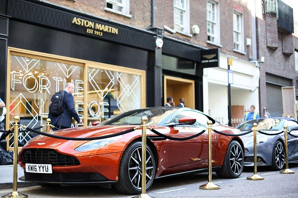 Aston Martin Lagonda Ltd. Boutique Unveiling And Interview With Chief Executive Officer Andy Palmer