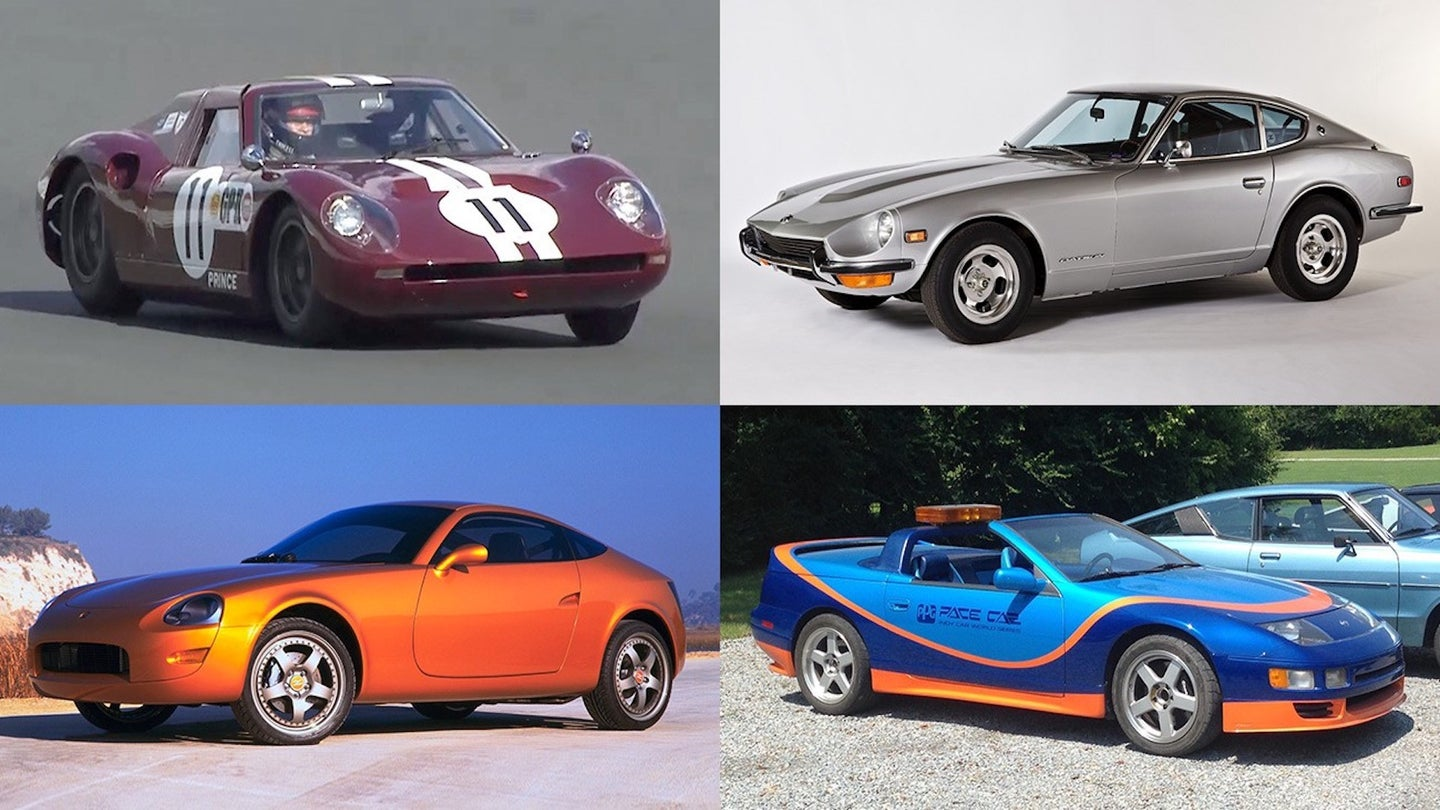 Nissan displays historic sports cars at 30th annual Z Car Convention