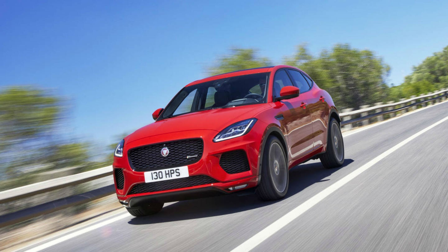 Say Hello to the Jaguar E-Pace Compact Crossover   The Drive