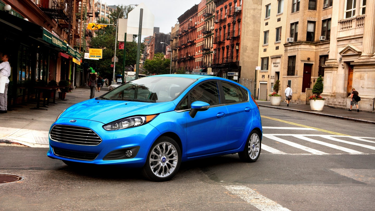 2017 Ford Fiesta 3/4 view