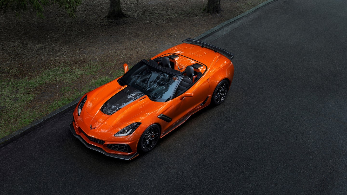 The fastest, most powerful production Corvette ever – the 755-horsepower 2019 ZR1 Convertible.