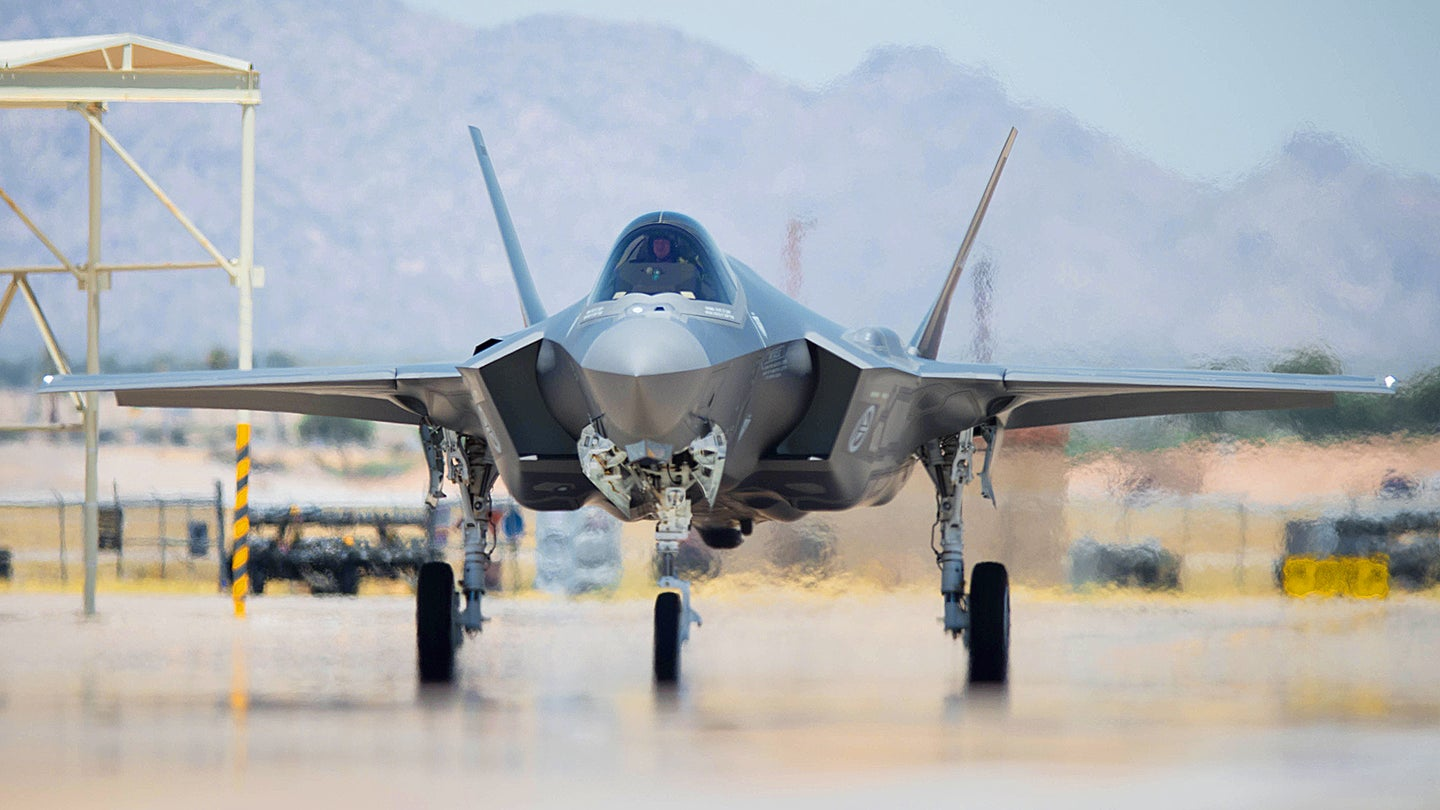 Norway's Seventh F-35 Arrival