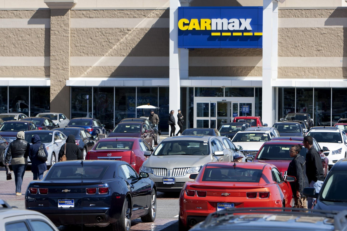 Inside A Carmax Inc. Location Ahead Of Earnings Figures
