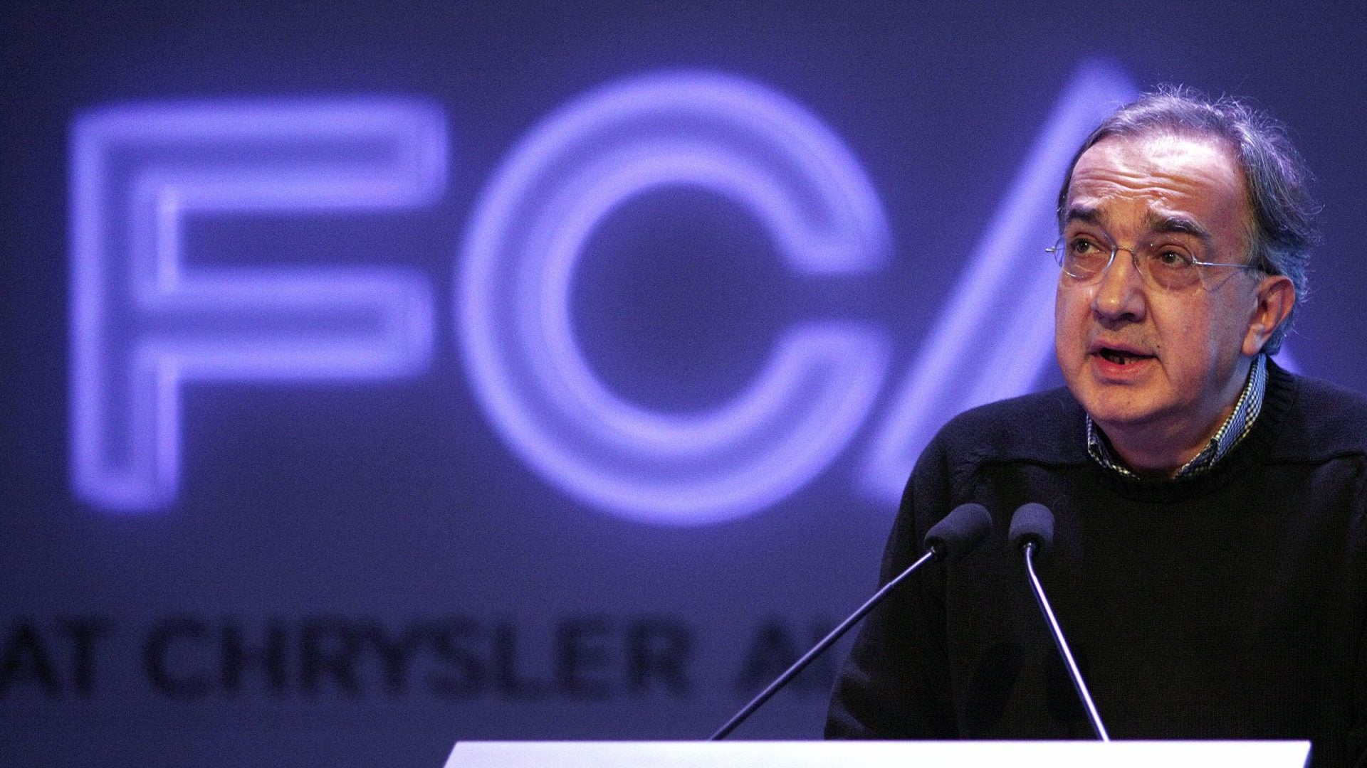 Chrysler CEO Marchionne Addresses Company's 2014 Investor Day