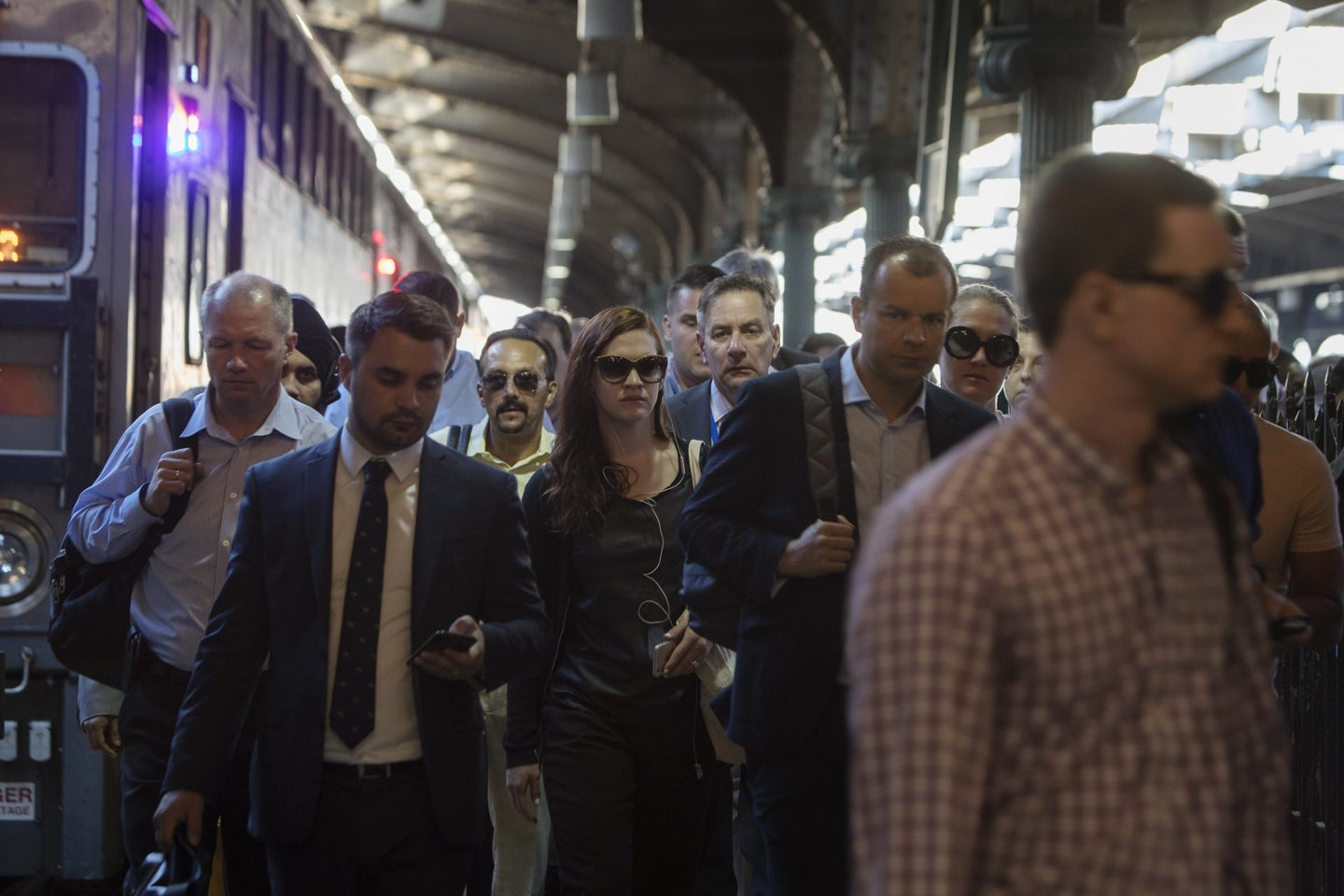 "Commuters At Hoboken Terminal As NJ Transit ""Summer Of Hell"" Begins"