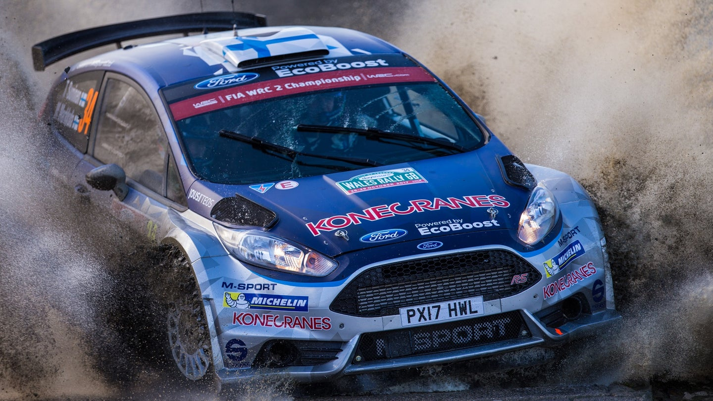2017 WRC Dayinsure Wales Rally GB Oct 27th