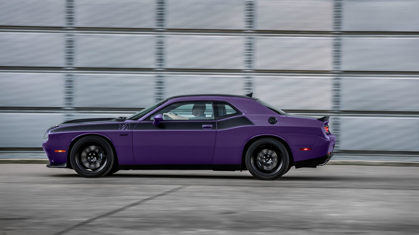 2018 Dodge Challenger T/A in Plum Crazy