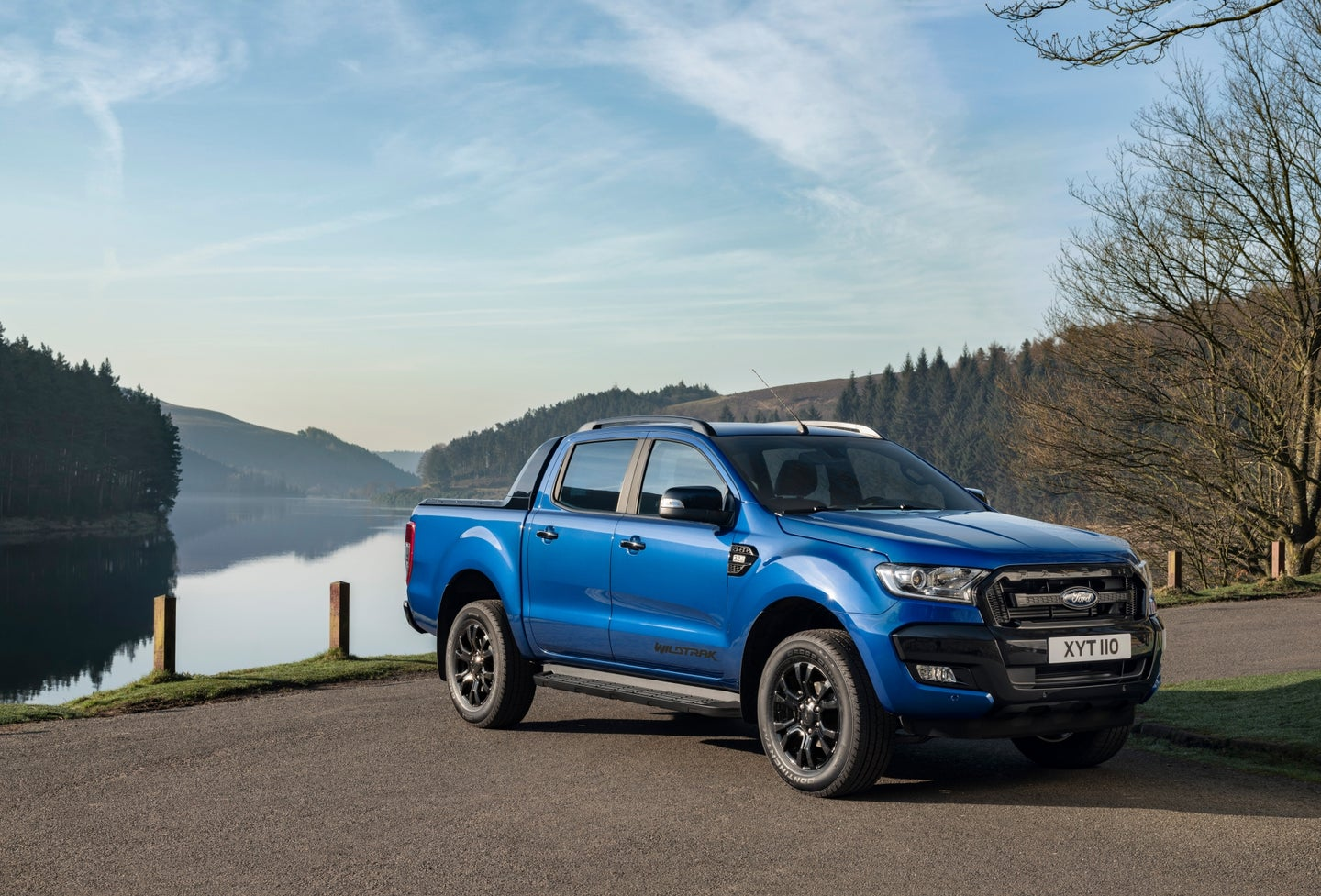 2018 Ford Ranger Wildtrak X - Front Side View