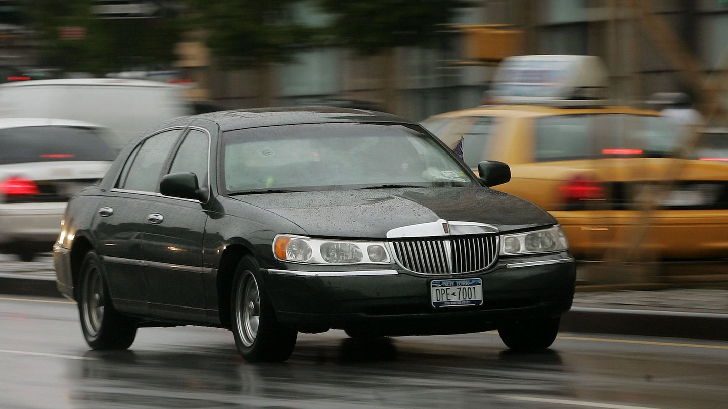 Despite Major Restructuring, Ford Spares Lincoln Town Car