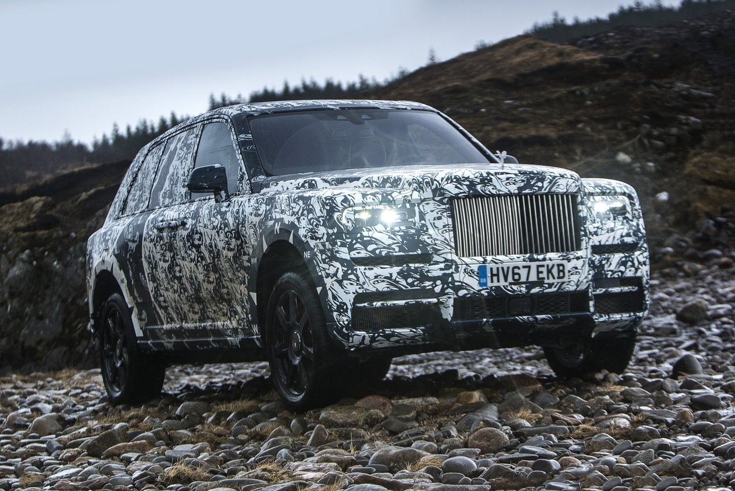 Rolls-Royce Cullinan Takes On The Final Challenge With National Geographic