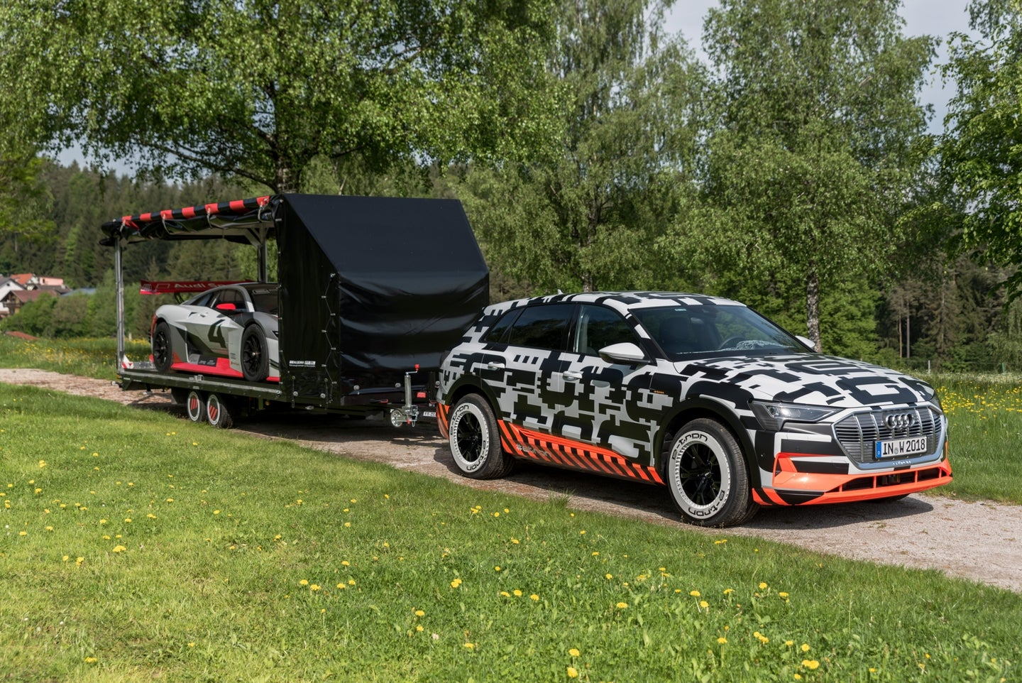 Audi e-Tron Prototype to Show off Towing Capacity at Wörthersee Meet