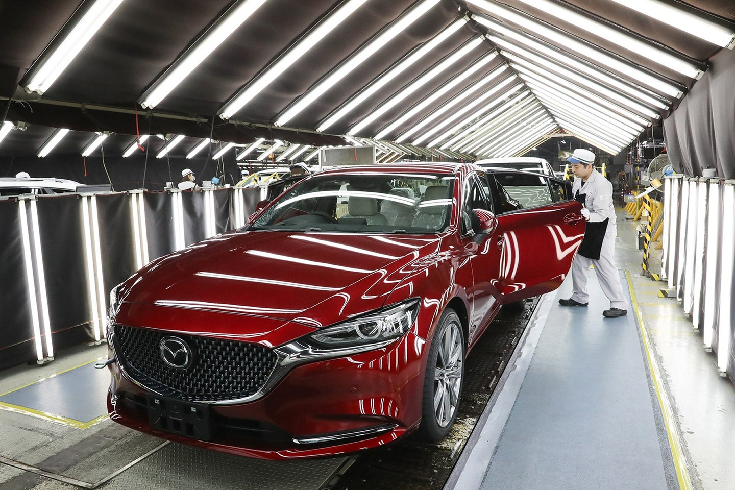 Mazda Celebrates the Production of 50 Million Vehicles in Japan