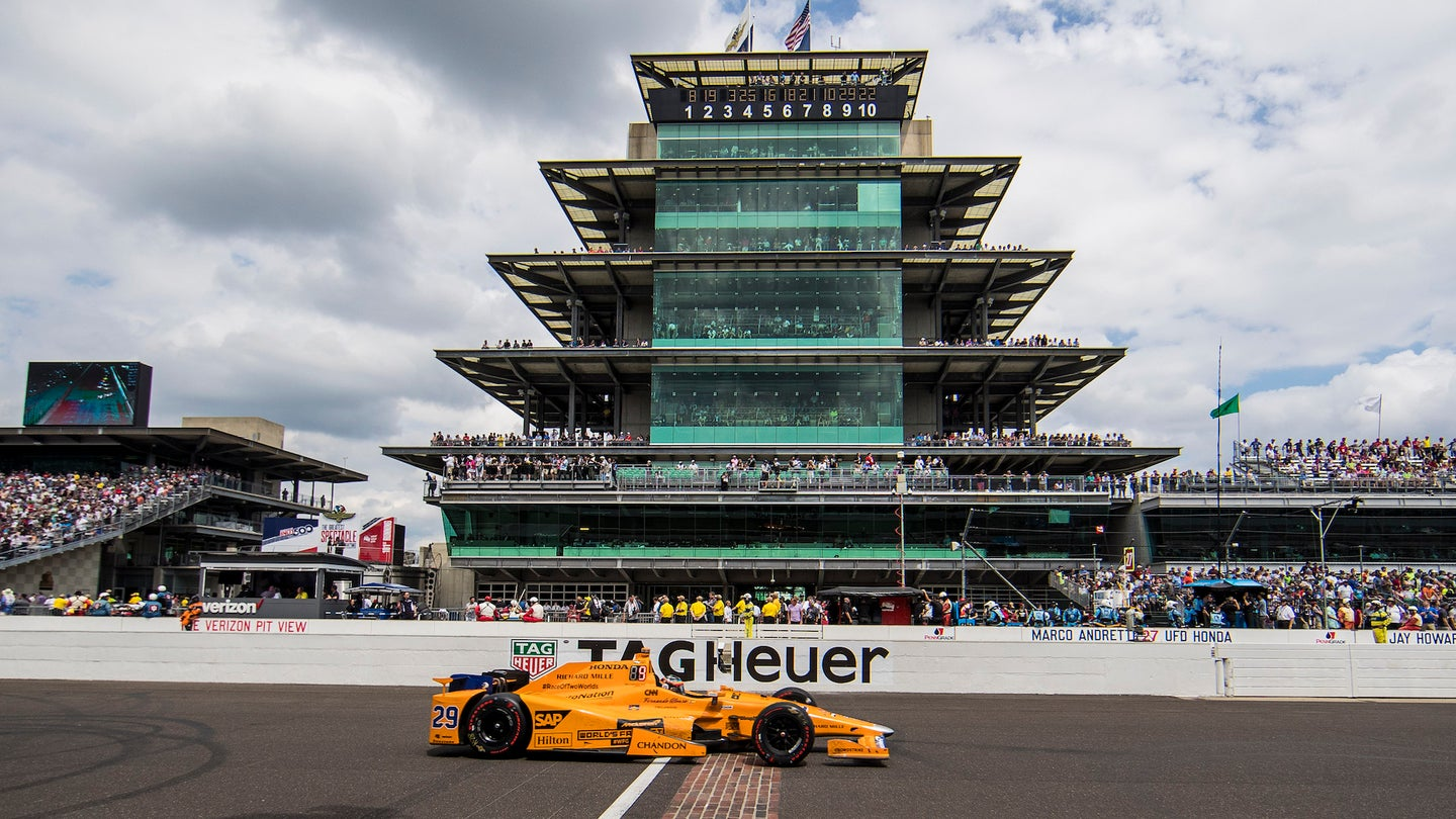 AUTO: MAY 28 IndyCar - Indianapolis 500