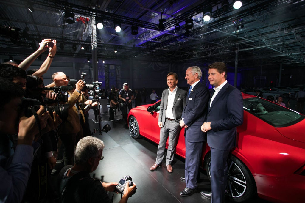 Volvo Cars NV CEO Hakan Samuelsson Attends Inauguration Of S60 Production Facility