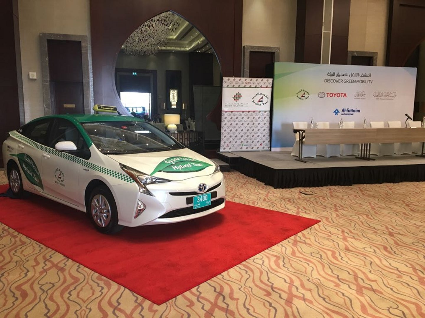 Taxi Company in Dubai Adopts 454 New Hybrid Electric Vehicles