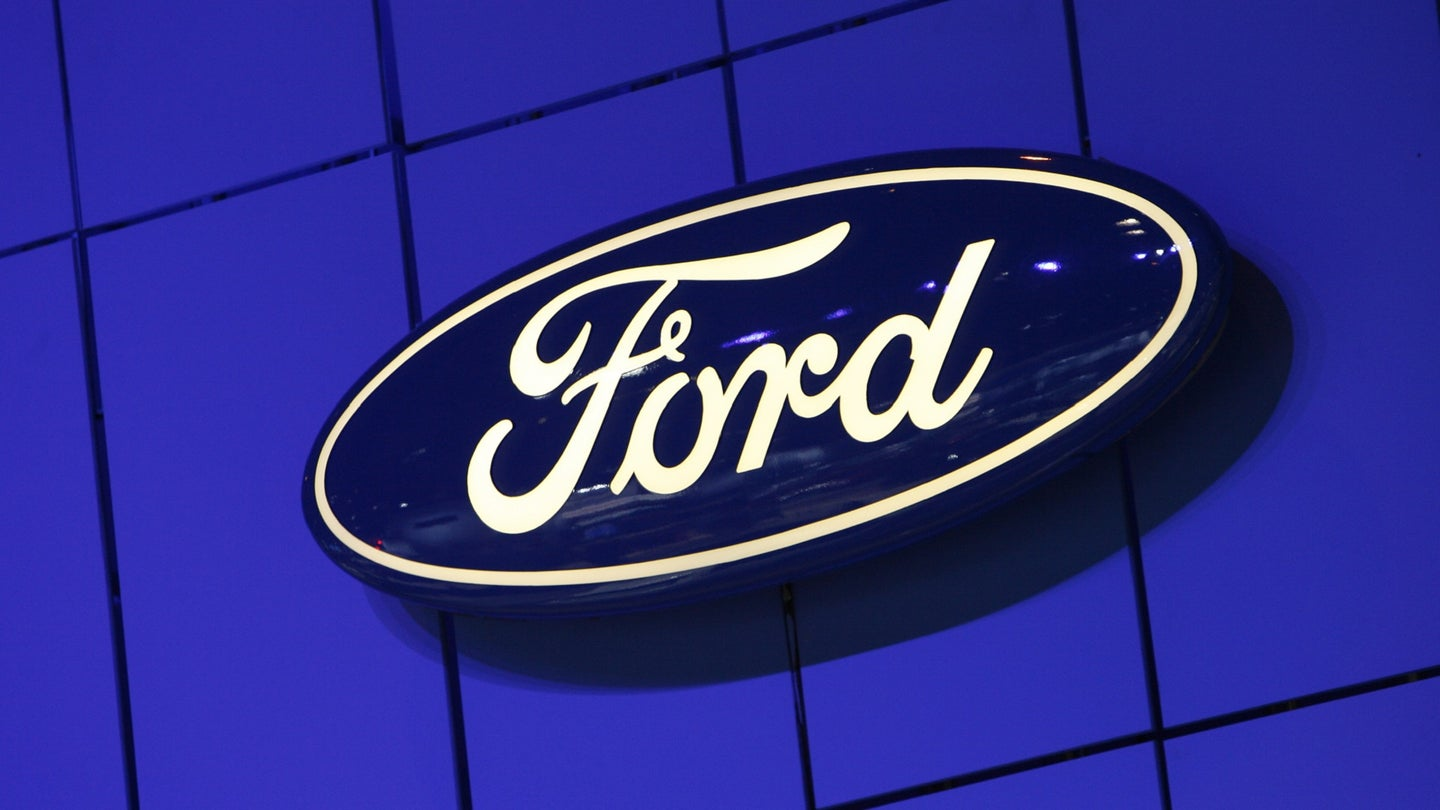 USA - Business - Chicago Auto Show - Ford Logo