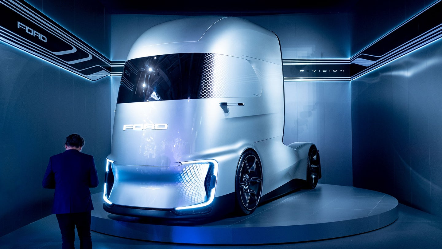 GERMANY-TRANSPORT-COMMERCIAL-VEHICLES-FAIR-IAA