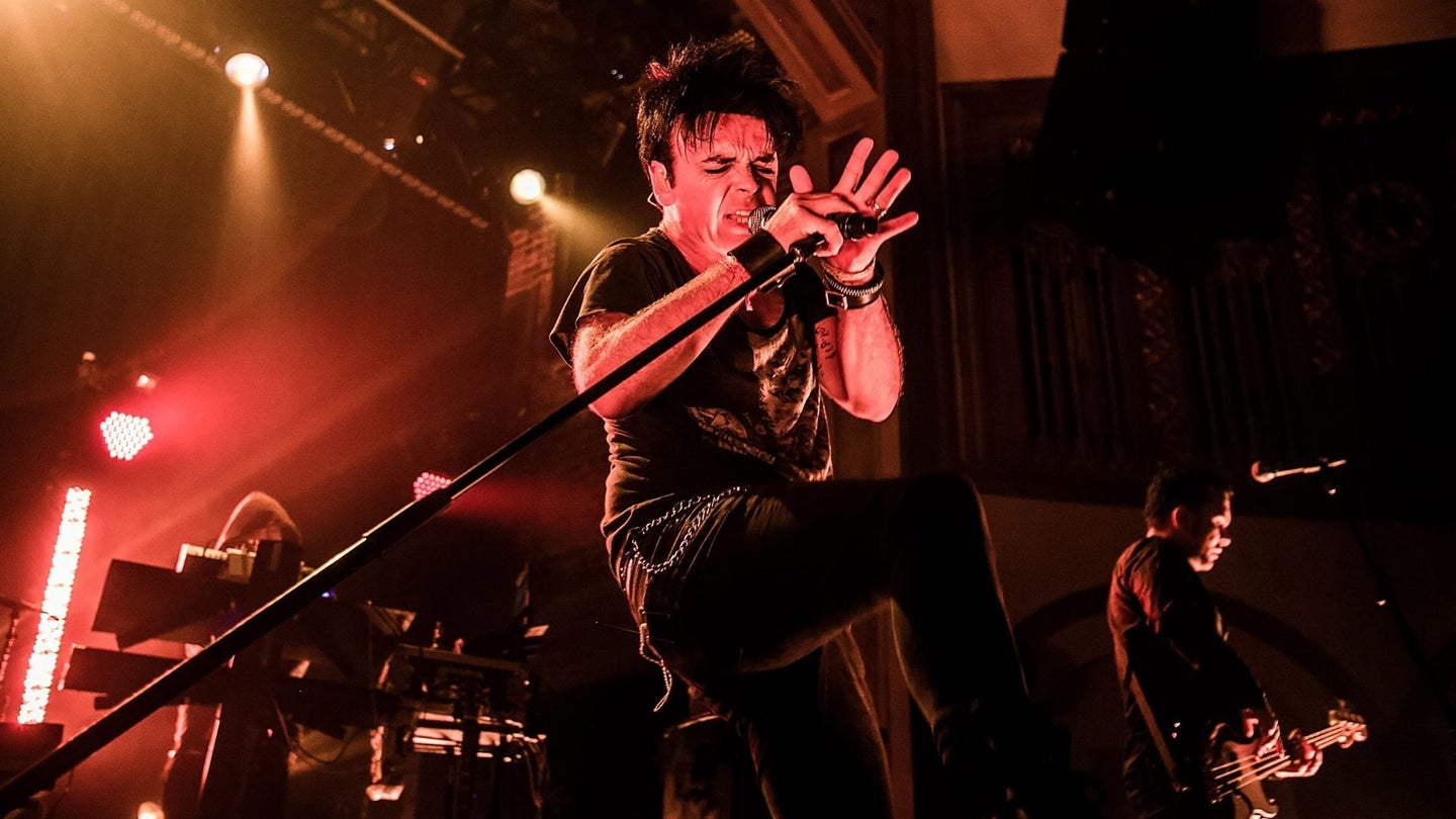 Gary Numan Performs At Neptune Theater