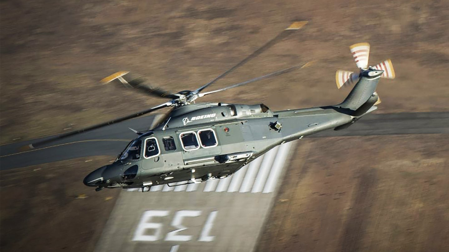 Boeing and Leonardo's MH-139A helicopter.