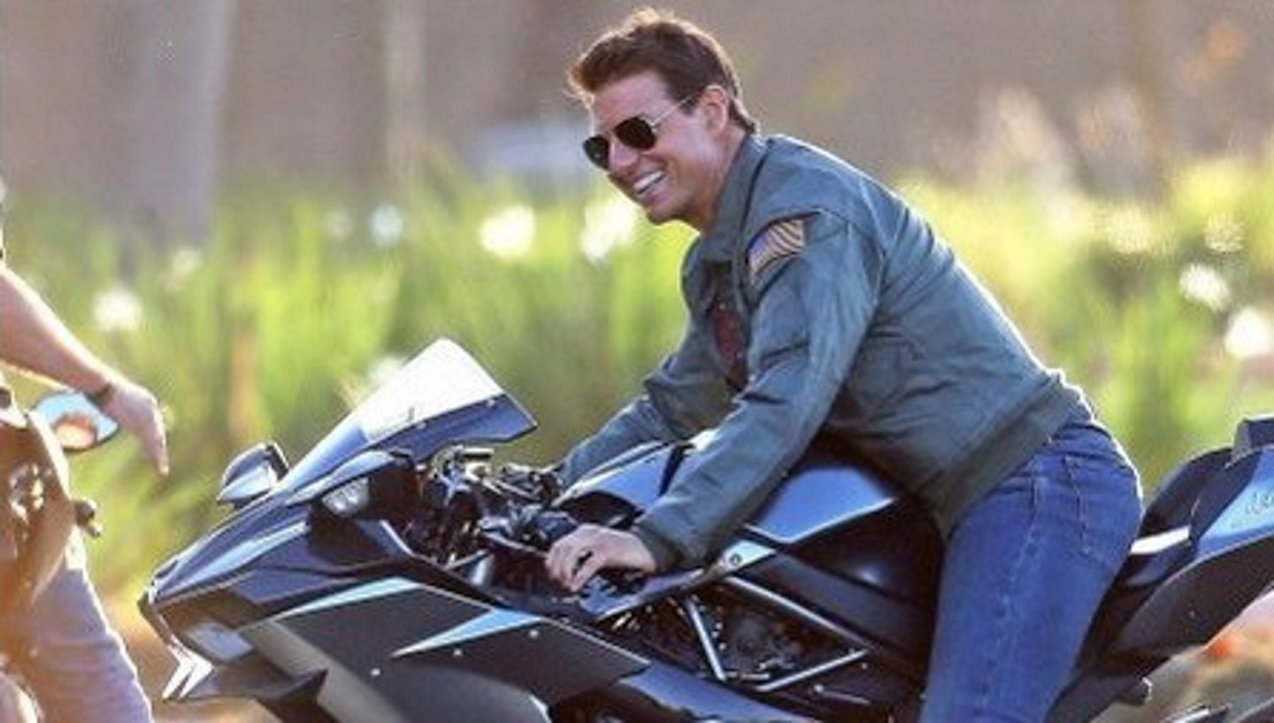 "** RIGHTS: WORLDWIDE EXCEPT IN ITALY, UNITED KINGDOM ** San Diego, CA - *PREMIUM-EXCLUSIVE* **WEB EMBARGO UNTIL 11AM PST ON 10/10/18** Actor Tom Cruise was spotted on the set of the 'Top Gun: Maverick' in Coronado, California outside of San Diego. Tom will be reprising his role as Pete ""Maverick"" Mitchell for the much anticipated sequel to the 1986 classic. The 56 year old actor looked great on the set of the highly anticipated sequel, wearing his character's trademark flight jacket and aviator sunglasses. The movie is scheduled for release in July 2019.Pictured: Tom CruiseBACKGRID USA 9 OCTOBER 2018 BYLINE MUST READ: Dsanchez / BACKGRIDUSA: +1 310 798 9111 / usasales@backgrid.comUK: +44 208 344 2007 / uksales@backgrid.com*UK Clients - Pictures Containing ChildrenPlease Pixelate Face Prior To Publication*"