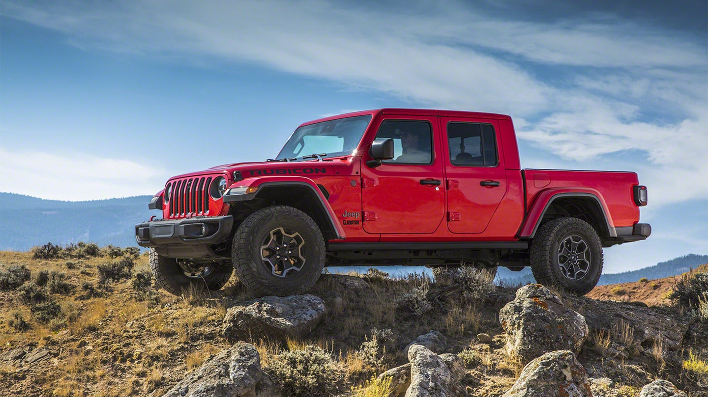 2020 jeep gladiator pickup truck costs less to lease per