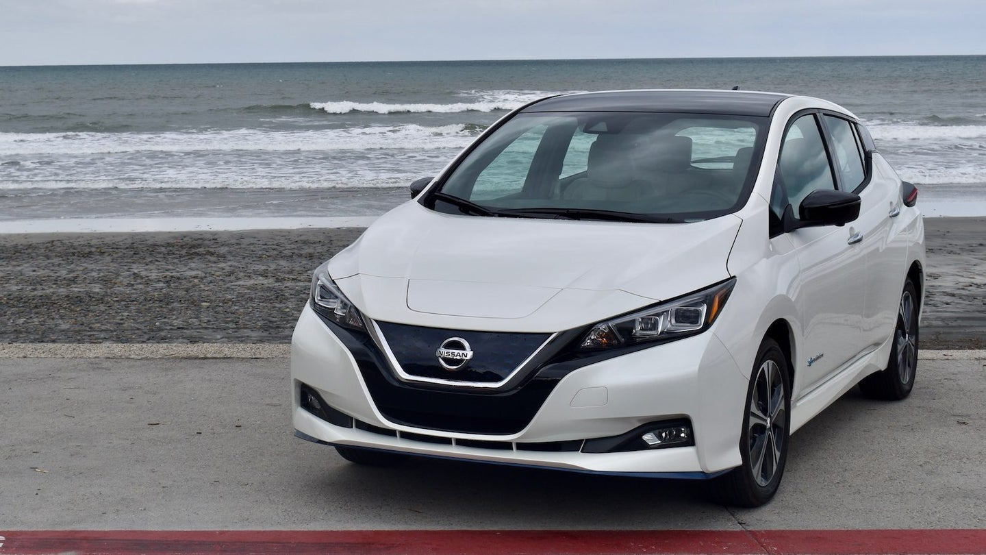 2019 Nissan Leaf SL Plus Review