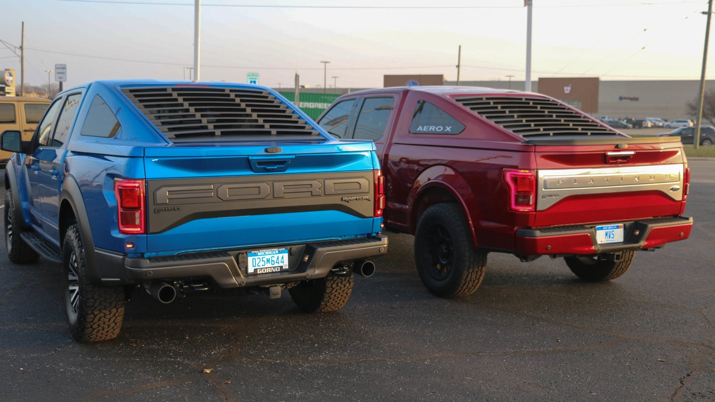 Ford F-150 Mustang Fastback Bed Cap