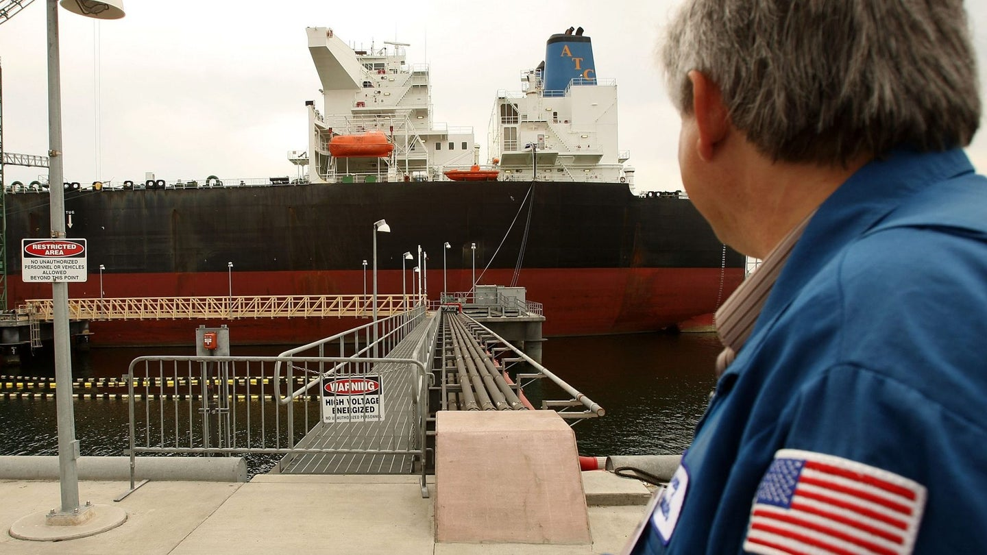 First Shore-Powered Oil Tanker Terminal Is Unveiled In Long Beach