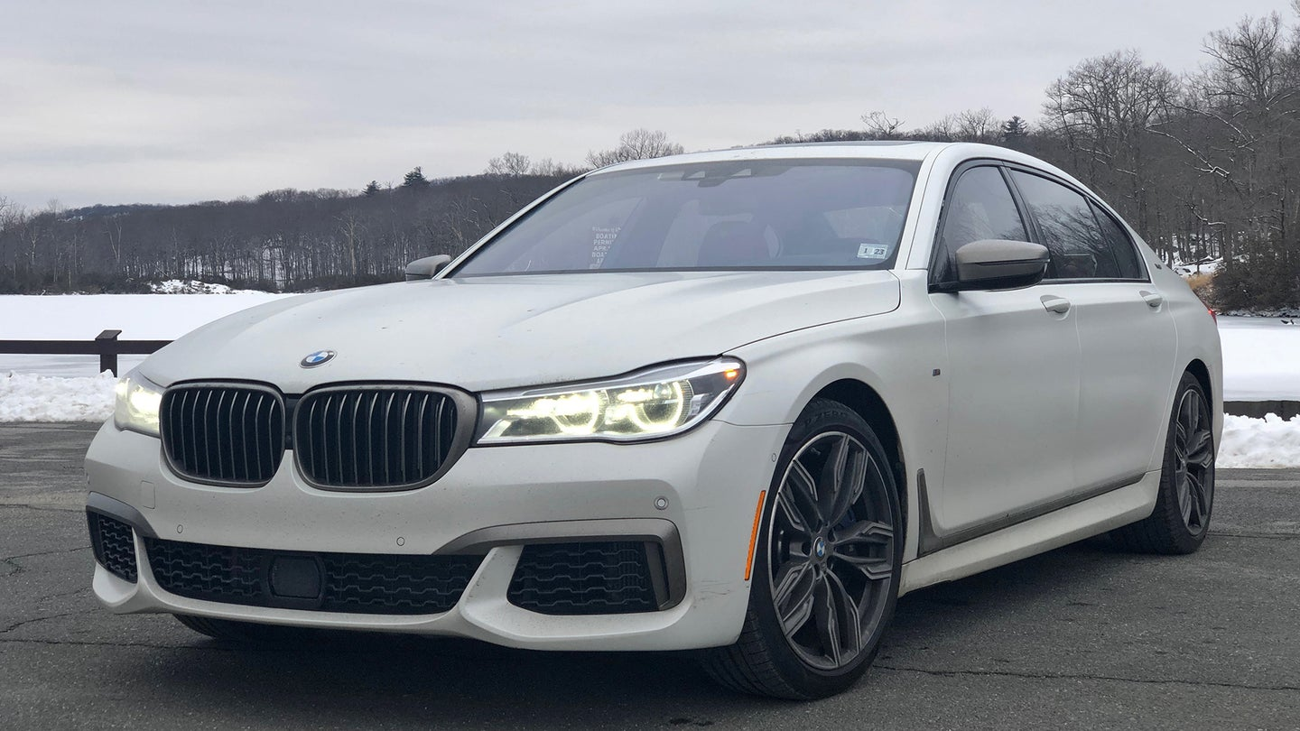 bmw m760i xdrive 7 series will sabel courtney test drive review