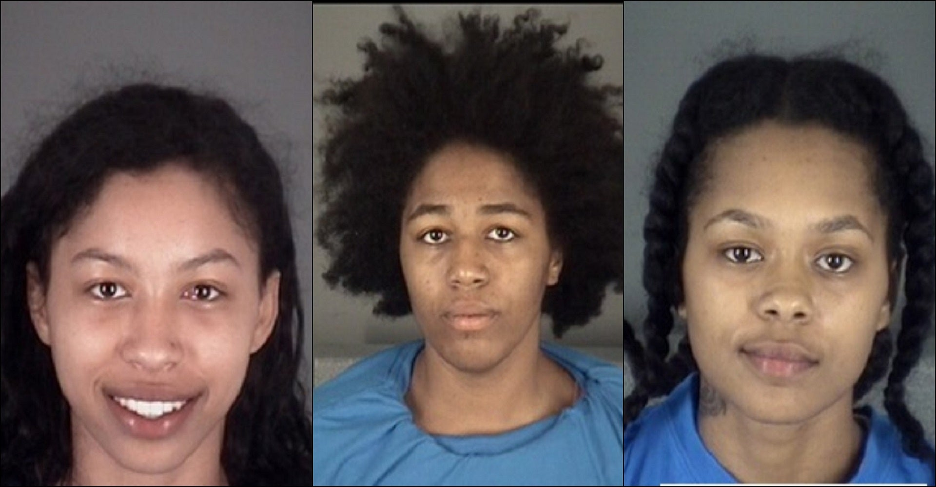 3 nude women were air drying at Florida rest stop before