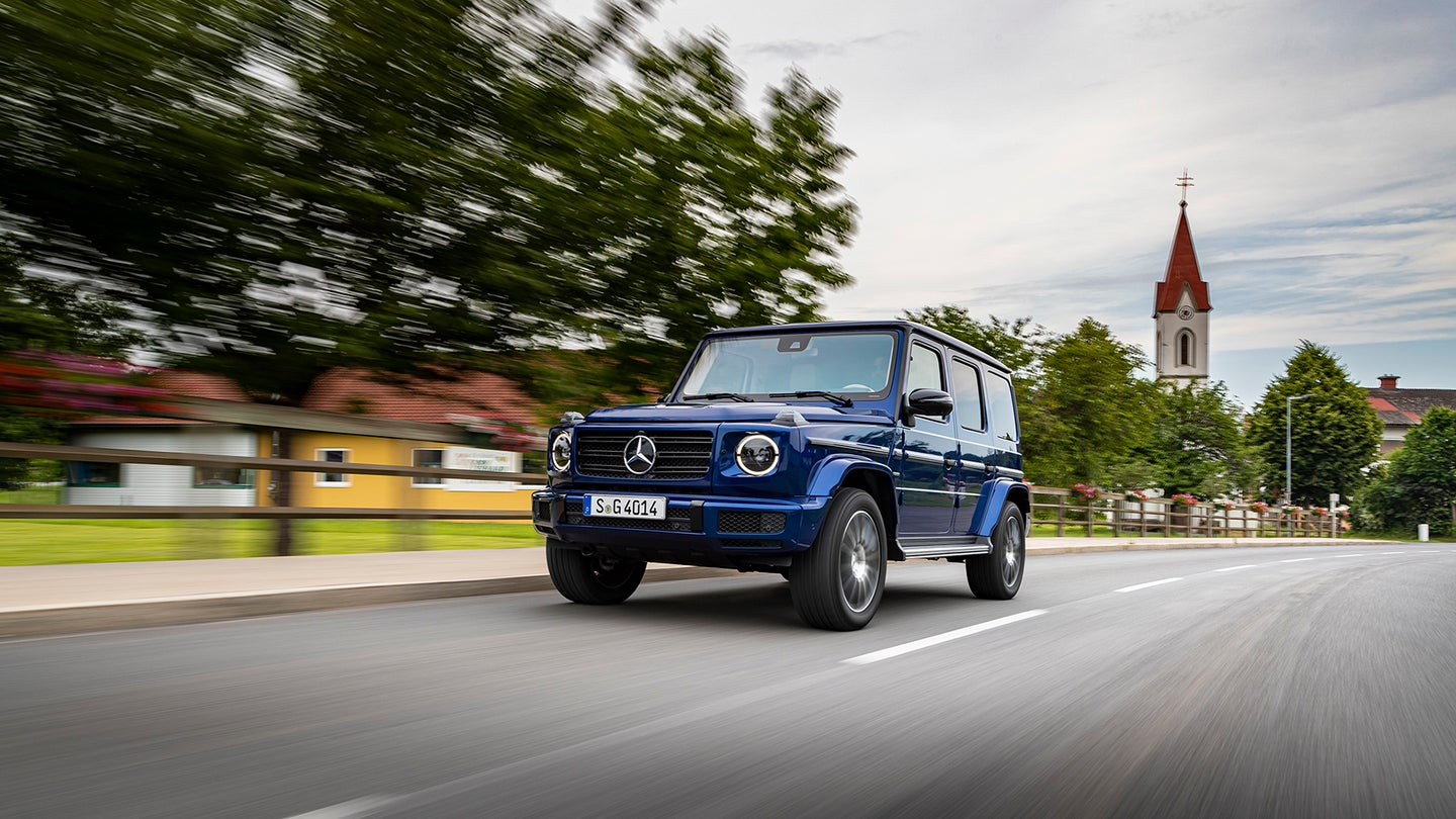 2019 Mercedes-Benz G-Class Stronger Than Time Edition Hero