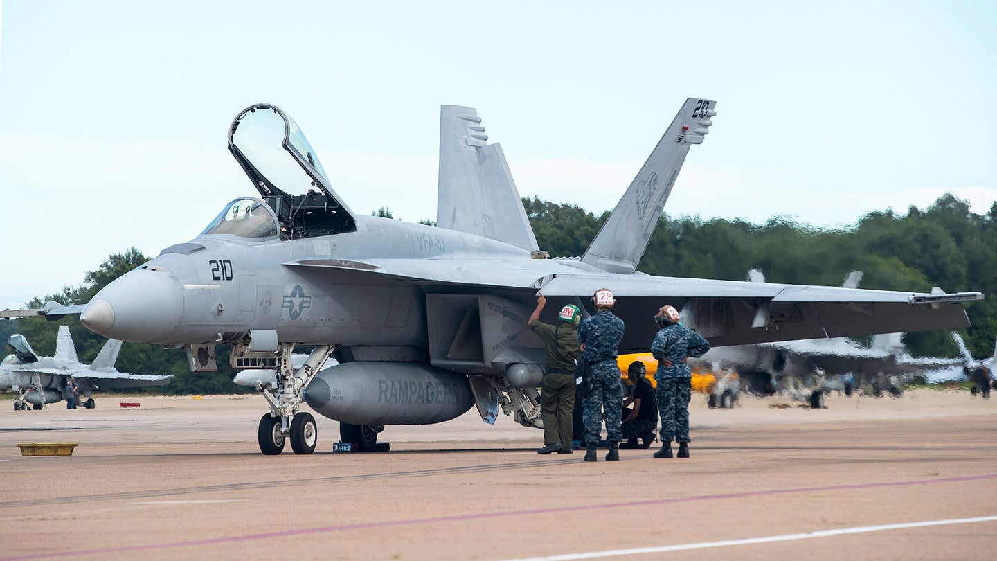 Strike Fighter Squadrons Prepare to Evacuate in Anticipation of Hurricane Florence