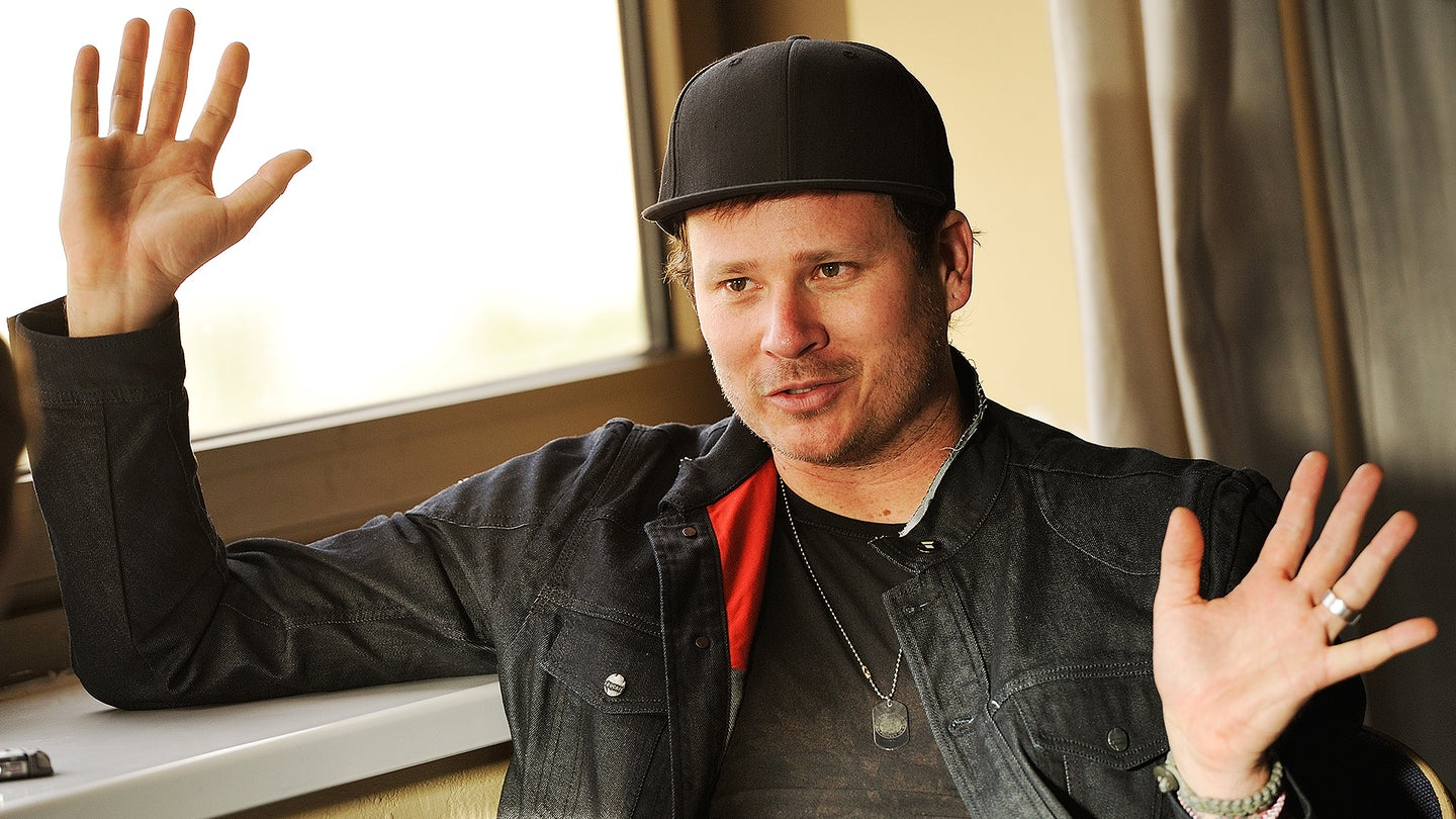 Tom DeLonge Portrait And Interview Shoot