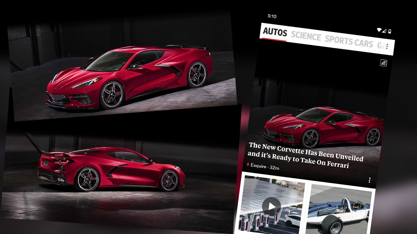 2020 Chevrolet Corvette C8 Esquire Photo Leak