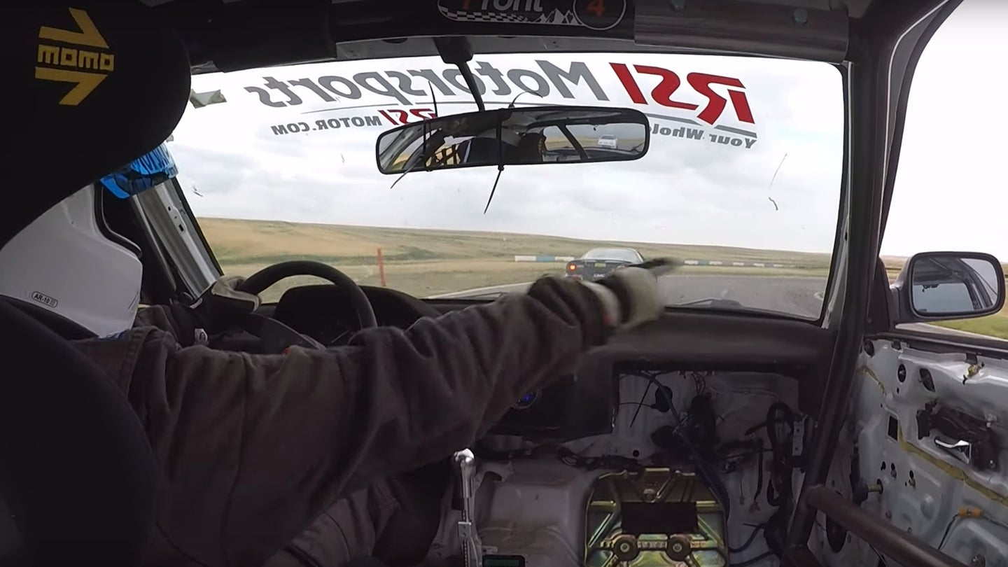 Race Car Driver Uses The Force July 2019