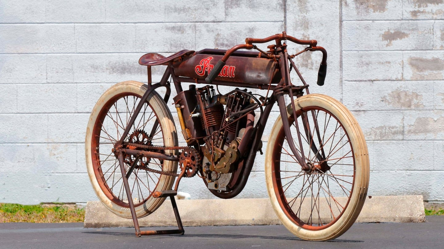 1914 Indian Board Track Racer Hero