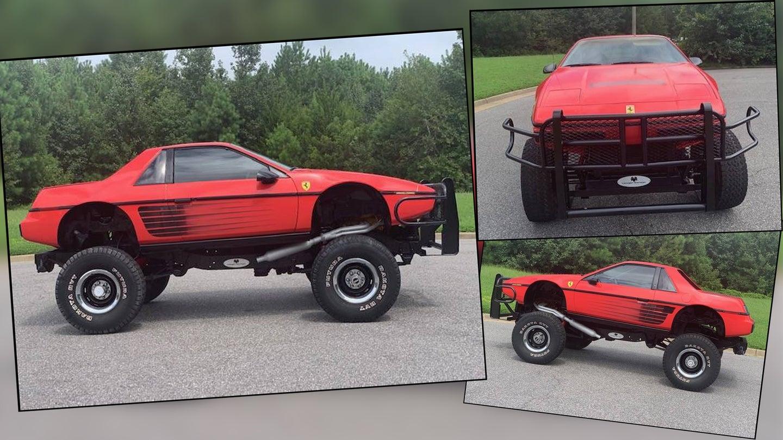 This $9,500 Lifted Pontiac Fiero Is Part Chevy Blazer ...