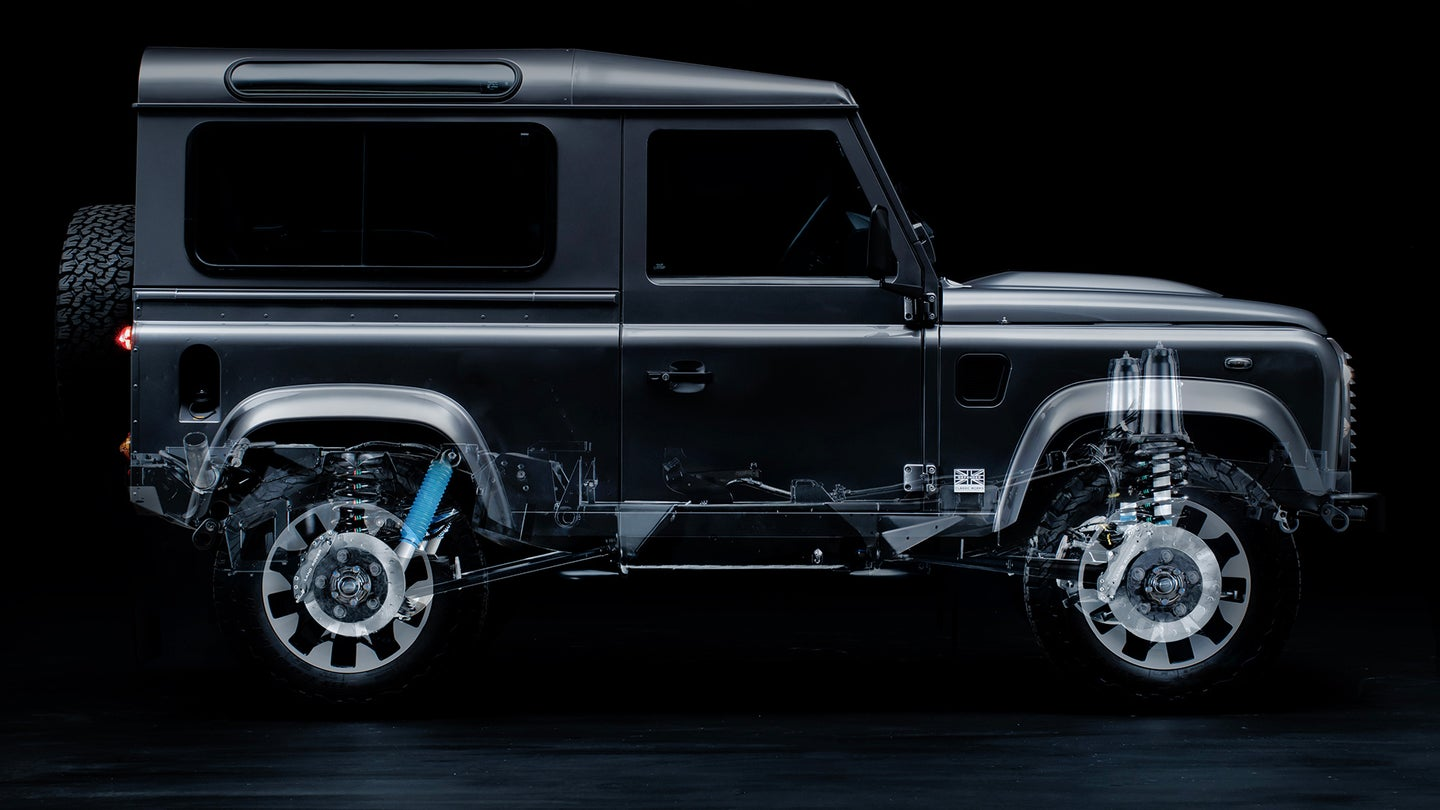 Land Rover Classic Defender Works Upgrade Kits Hero