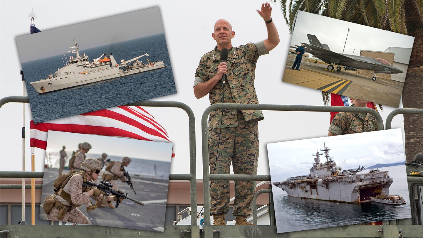A forward glance: Commandant of the Marine Corps visits MCAS Miramar