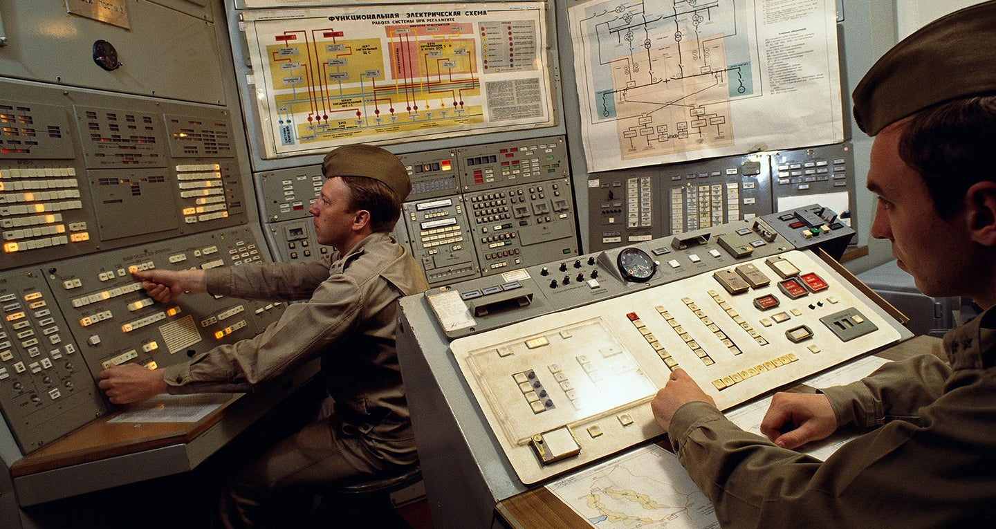 Nuclear Missile Base Control Room