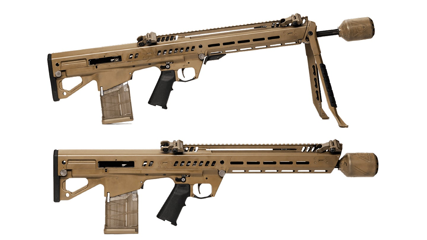 GD-OTS' RM277 infantry and automatic rifle variants.
